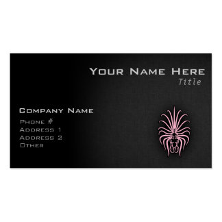 Light Pink Virgo Double-Sided Standard Business Cards (Pack Of 100)