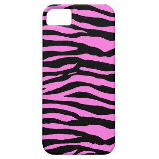 Light Pink Zebra Stripes iPhone SE/5/5s Case