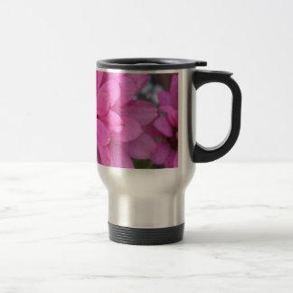 Light Pink Zinnia 15 Oz Stainless Steel Travel Mug