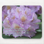 Light Plum Rhododendron in Spring Mouse Pad