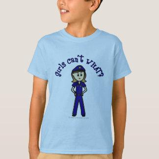 Light Police Officer T-Shirt