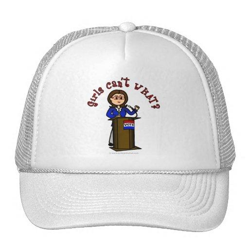 Light Politician Trucker Hat