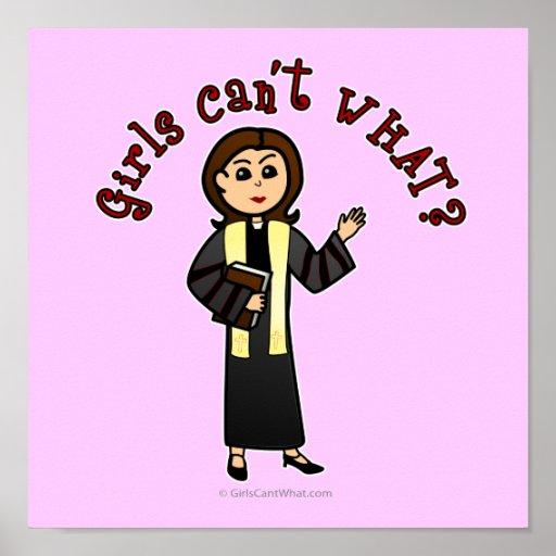 Light Preacher Girl Poster