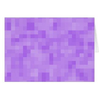 Light Purple Abstract Design. Greeting Card
