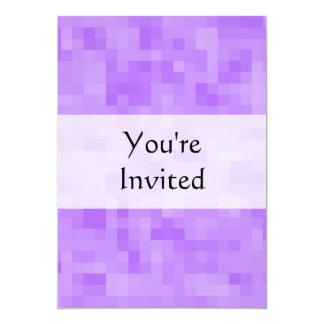 Light Purple Abstract Design. 5x7 Paper Invitation Card