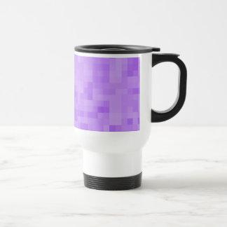 Light Purple Abstract Design. Mug