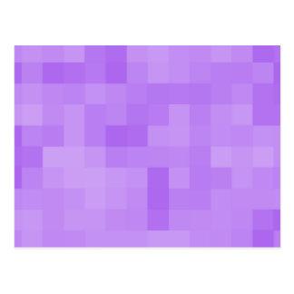 Light Purple Abstract Design. Postcard