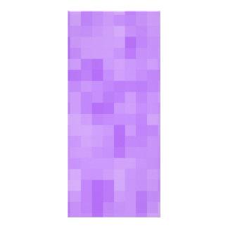Light Purple Abstract Design. Rack Card