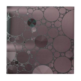 Light Purple Abstract Pattern Tile