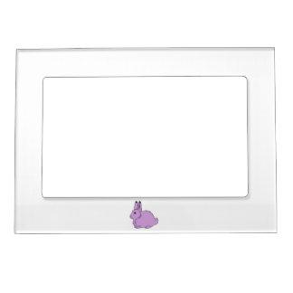 Light Purple Arctic Hare Magnetic Frame