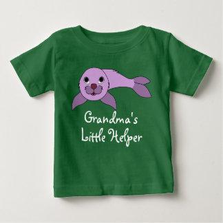 Light Purple Baby Seal Baby T-Shirt