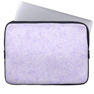 Light Purple Background Pattern. Laptop Sleeve
