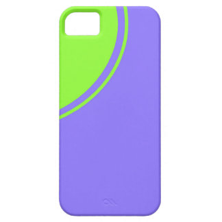 light purple blue green circle iPhone 5 cases