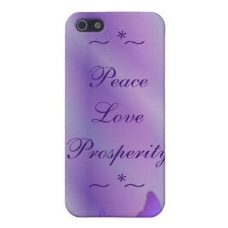 Light Purple Butterfly iPhone 4 Case