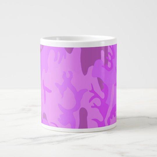 Light Purple Camouflage Giant Coffee Mug