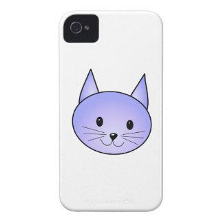 Light purple cat. iPhone 4 covers