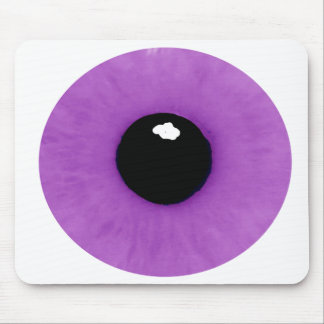 Light Purple Eyeball Mousepad