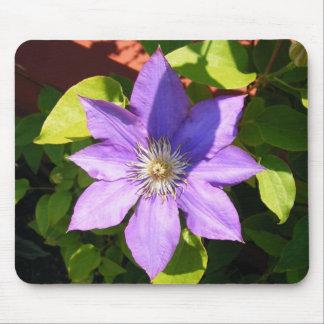 Light Purple Flower Mouse Pad