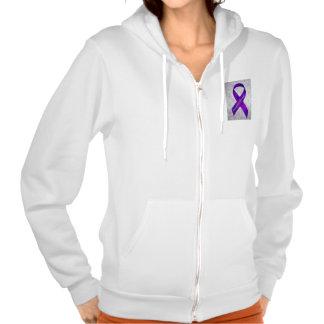 Light Purple Flowers Fibromyalgia Awareness T-shirts