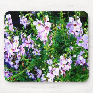 Light Purple Flowers Mouse Pad