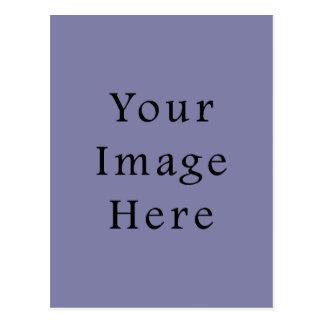 Light Purple Haze Color Trend Blank Template Postcard