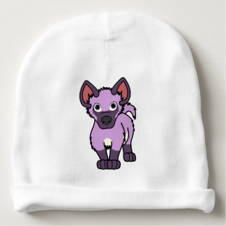 Light Purple Hyena Cub Baby Beanie