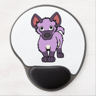 Light Purple Hyena Cub Gel Mouse Pad