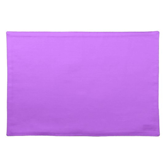 Attractive Light Purple Lavender Lilac Soft Purple Color Tone Placemat