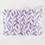 Light Purple Leaves Glass Trinket Trays