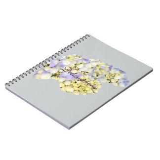 Light Purple Lilacs Spiral Notebook