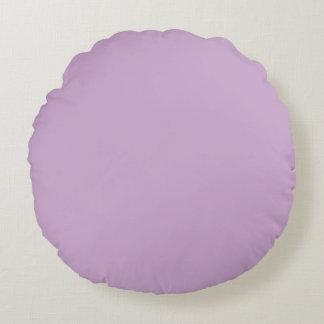 Light Purple Round Pillow