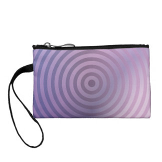 Light purple rings coin purse