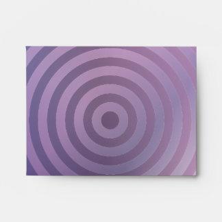Light purple rings envelope