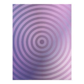 Light purple rings letterhead