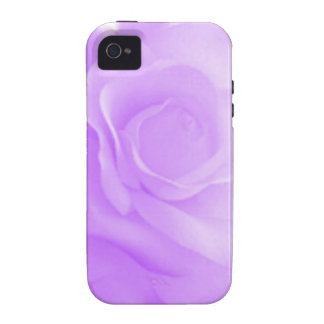 Light Purple Rose Case Case-Mate iPhone 4 Covers