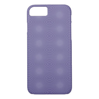 Light Purple Starbursts iPhone 7 Case