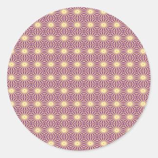 Light Purple Trippy Sticker