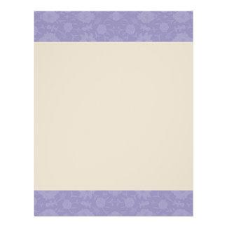 Light Purple Vintage Floral Flyer
