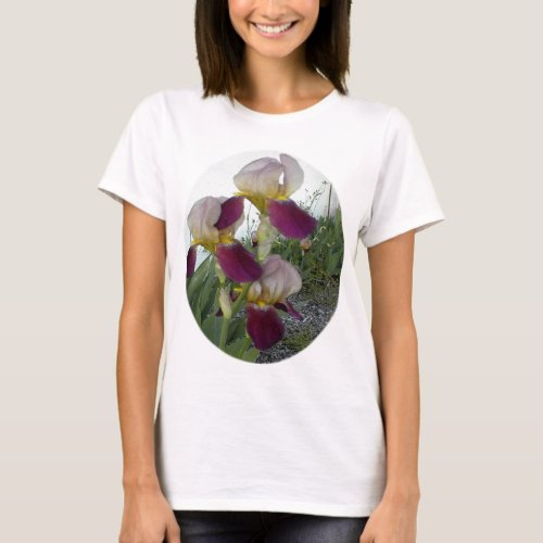 Light purple with pink irises T-Shirt