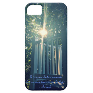 """Light Quote"" Case for iPhone 5/5s"