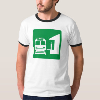 Light Rail Station Highway Sign T-Shirt