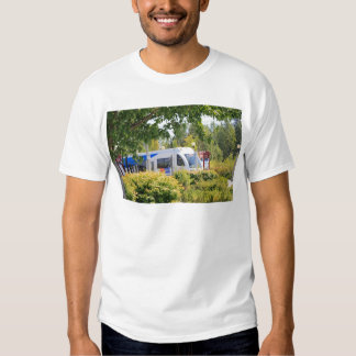 Light rail train seen through landscape. T-Shirt