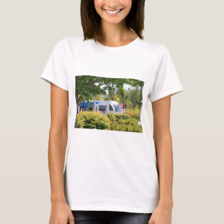 Light rail train seen through landscape. T-Shirt