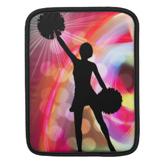 Light Rainbow with Cheerleader iPad Sleeve