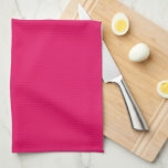 """Light Raspberry Fashionable Lettered Kitchen Towel<br><div class=""""desc"""">Customizable Solid Color Option - These trendy and make your own Designer Solid Color Style Design Option kitchen decorations will be perfect for cleaning up around the kitchen. - Light Raspberry Fashionable Lettered Colorful Monogram Personalized Kitchen Dish Towels</div>"""