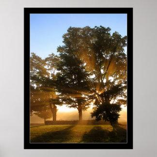 Light Rays 4 Poster
