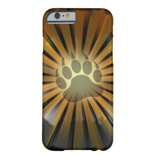 Light Rays Bear Pride Flag Bear Paw Barely There iPhone 6 Case