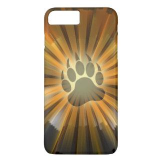 Light Rays Bear Pride Flag Bear Paw iPhone 7 Plus Case