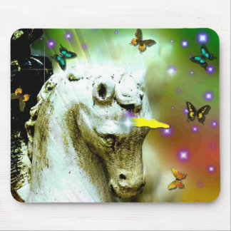 light rays horse mouse pad