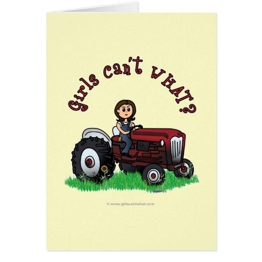Light Red Farmer Cards